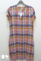 Pajamas / housewear set female Yvonne collection / Yiwang Average size Pink, grayish blue cotton