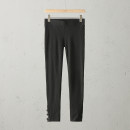 Casual pants Black / G + Leggings US:XS(26-27),US:S(27-28),US:M(28-29),US:L(30-31),US:XL(31-32) Autumn of 2019 trousers Natural waist A0734-MC190205 Max Coopy
