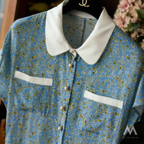 Dress Spring 2021 Broken blue flower L,M,S