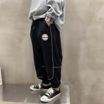 trousers Other / other male 130, 140, 150, 160, 170 Black, gray spring and autumn trousers Korean version There are models in the real shooting Casual pants Tether middle-waisted cotton Cotton 85% polyester 15% XHQ11KZ1097 Class B XHQ11KZ1097 Chinese Mainland Guangdong Province Guangzhou City