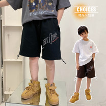 trousers Other / other male 130, 140, 150, 160, 170 Black, brown summer shorts Korean version There are models in the real shooting Casual pants Leather belt middle-waisted cotton Don't open the crotch Cotton 95% other 5% XPYQ12DK1250 Class B XPYQ12DK1250 Chinese Mainland Guangdong Province