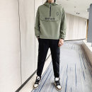 Jacket Mz10 / 10 per week Youth fashion White suit black suit army green suit M L XL 2XL 3XL routine easy Other leisure autumn Polyester 100% Long sleeves Wear out stand collar Military brigade of tooling teenagers routine Cloth hem Closing sleeve Spring of 2019 Bag digging with open cut thread