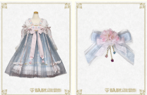 Lolita / soft girl / dress BABY,THE STARS SHINE BRIGHT Sax color - no reason for not supporting seven days, purple - no reason for not supporting seven days The balance payment does not include the service charge, and the credit card / payment includes the service charge