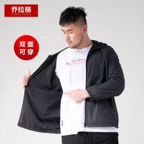 Jacket Joglakol / jorag Fashion City black routine easy go to work spring Large size polyester fiber