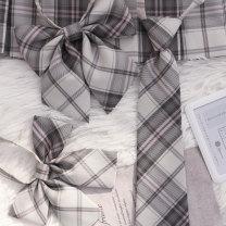 Bow tie Yukawa Sakura pointed necktie, Yukawa Sakura flat bow tie, Yukawa Sakura feather root bow tie, Yukawa Sakura Plaid strap lattice Ordinary dress leisure time Polyester Yarn dyed weaving Polyester Sennu tribe Common type (7cm-12cm) JK100V