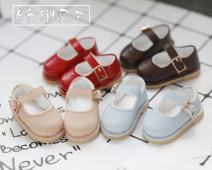 BJD doll zone shoes 1/6 Over 8 years old goods in stock 6 points - meat powder shoes, 6 points - dark brown shoes, 6 points - light blue shoes, 6 points - red shoes, 6 points - rice white shoes 6 points BJD size