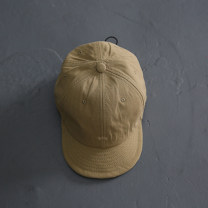 Hat cotton Valley Khaki Adjustable Baseball cap Spring, summer, autumn male leisure time Youth, youth dome