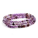 Bracelet Natural crystal / semi precious stone RMB 20-24.99 Zhijing About 5.2 mm amethyst