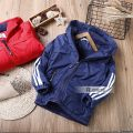 Cotton padded jacket male No detachable cap other Other / other Red, blue Plush Zipper shirt Europe and America No model Solid color other other Polyester 100% Intradermal bile duct Polyester 100% Four, five, six, seven, eight, nine, ten, eleven, twelve, thirteen