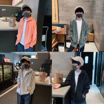 Sweater / sweater Other / other Green / zipper, orange / zipper, black / zipper, grey / zipper, green / pullover, orange / pullover, black / pullover, grey / pullover, green / zipper reservation, orange / zipper reservation, grey / zipper reservation neutral spring and autumn No detachable cap other