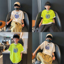 T-shirt White, green, white reservation, green reservation Other / other 110 / 110cm, 120 / 120cm, 130 / 130cm, 140 / 140cm, 150 / 150cm, 160 / 160cm, 170 / 165cm currency summer Short sleeve Crew neck leisure time There are models in the real shooting nothing other other Cotton 100% Class B