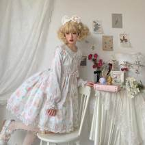 Lolita Dress Sky blue, light green, white, violet, pink, light yellow L,M,S,XL goods in stock Dreamheart Lodge