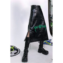 skirt Winter 2020 S,M,L black Mid length dress street Natural waist 18-24 years old 71% (inclusive) - 80% (inclusive) neutral