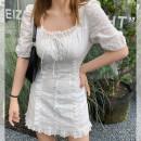 Dress Spring 2021 White, white# S,M,L,XL NQ0030