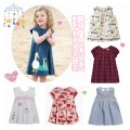 Dress female Other / other The recommended height is 80-85cm for 18m, 85-90cm for 2T (24m), 90-100cm for 3T, 100-105cm for 4T, 105-110cm for 5T, 110-120cm for 6T and 120-130cm for 7T Cotton 100% summer Europe and America Short sleeve Pure cotton (100% cotton content) Short sleeve dress Class A