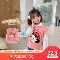 Vest female Pink 90cm,100cm,110cm,120cm,130cm Qiqi Miaomiao spring and autumn routine Socket lady cotton Cartoon animation Cotton 100% C111MJ003 other 2 years old, 3 years old, 4 years old, 5 years old, 6 years old, 7 years old, 8 years old
