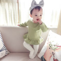 T-shirt Bella 59cm 66cm 73cm 80cm 90cm 100cm female spring and autumn Long sleeves Crew neck leisure time No model nothing other Other 100% 3 months 6 months 12 months 9 months 18 months 2 years 3 years old
