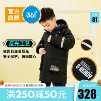 Cotton padded jacket male No detachable cap other 361° 130cm 140cm 150cm 160cm 170cm routine A button leisure time No model Solid color other stand collar Polyester 100% Polyester 100% Winter of 2019