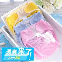 Cloth diaper Ruoxin Beier Blue (2 diapers + 2 free diapers) pink (2 diapers + 2 free diapers) yellow (2 diapers + 2 free diapers) optional 2 colors (remarks) (2 diapers + 2 free diapers) S (0-3 months) m (3-6 months) l (6-9 months) Mesh diaper pocket