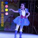 Children's performance clothes female 100cm,110cm,120cm,130cm,140cm,150cm,160cm Other / other Class B other Polyacrylonitrile fiber (acrylic fiber) 100% nylon princess