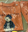 T-shirt Orange hat, yellow boxer, orange polo, white embroidery, orange embroidery, white suit bear, red stripe Other / other 12T 155Cm,10T 150,8T 140,7T 135,6T 130,5T 120,4T 110,3T 100,2T 90 neutral summer Short sleeve Crew neck leisure time There are models in the real shooting nothing cotton
