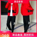 Leisure sports suit autumn M,L,XL,2XL,3XL White, black, red Long sleeves Agolsadu / yageshadu trousers teenagers Sweater YGT-K1281 2019