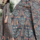 Fabric / fabric / handmade DIY fabric hemp Loose shear piece Plants and flowers other clothing Europe and America YIXIN YXSM