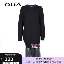 Dress Fall 2017 black 160/80A/S 165/84A/M 170/88A/L Middle-skirt 25-29 years old Type O QDA 79410702_ KQmqz More than 95% other Other 100% Same model in shopping mall (sold online and offline)