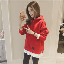 Sweater / sweater Winter 2020 Hys-926 red sweater [Plush high-quality version], hys-926 black sweater [Plush high-quality version], hys-926 gray sweater [Plush high-quality version], random delivery T-shirt Plush easy commute Other / other Korean version