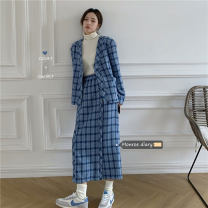 Fashion suit Winter 2020 Average size Jacket, skirt 18-25 years old 30% and below