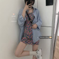 Dress Spring 2021 Suspender skirt, shirt Average size Mid length dress singleton  Sleeveless commute camisole 18-24 years old Korean version 30% and below