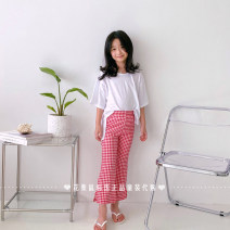 trousers Other / other neutral S(90cm),M(100cm),L(110cm),XL(120cm),JS(130cm),JM(140cm) Black (no return, no change), red (no return, no change) summer trousers leisure time There are models in the real shooting Casual pants cotton Class A ry