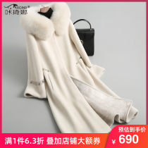 leather and fur Autumn of 2018 Kacina Desert camel 160/S 165/M 170/L have more cash than can be accounted for Long sleeves commute Hood routine other lady KQN18113-1 30-34 years old Fur collar Pure e-commerce (online only)