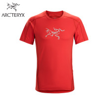 Quick drying T-shirt 18920/Phasic Evolution Crew SS Men's male Nine hundred Cosmic / zevan / Arcturus / Orange Black / Black Arc & lsquo; teryx / Archaeopteryx 501-1000 yuan SMLXL Short sleeve Air permeability and quick drying Spring of 2018 Crew neck Camping, hiking, gliding and self driving Vietnam