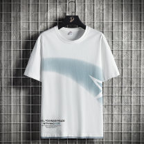 T-shirt Youth fashion routine M L XL 2XL 3XL 4XL 5XL 6XL 7XL 8XL Disway Short sleeve Crew neck easy Other leisure summer DSW-125-DT123SS Cotton 100% teenagers routine tide Summer 2021 other printing cotton other No iron treatment Fashion brand Pure e-commerce (online only) More than 95%