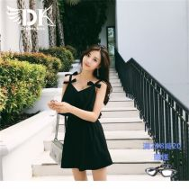 one piece  DK M (80-100 kg) l (100-118 kg) XL (118-130 kg) XXL (130-148 kg) XXXL (148-165 kg) Black 1 Black 2 Black One piece flat corner swimsuit With chest pad without steel support Nylon others
