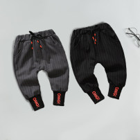 trousers Other / other male spring and autumn trousers leisure time No model Casual pants Leather belt middle-waisted cotton Open crotch Cotton 95% PVC 5% Class A 12 months, 6 months, 9 months, 18 months, 2 years, 3 years, 4 years