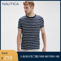 T-shirt Fashion City routine S M L XL XXL Nautica / nodica Short sleeve Crew neck easy daily summer Cotton 100% youth routine Business Casual Summer 2020 other Same model in shopping mall (sold online and offline)