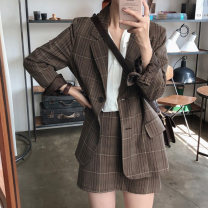 Fashion suit Spring 2021 S. M, average size Suit jacket, skirt 18-25 years old Other / other 71% (inclusive) - 80% (inclusive)
