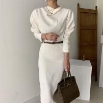 Dress Spring 2021 Black, beige S, M Other / other