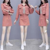 Fashion suit Spring 2021 S,M,L,XL,XXL Orange two piece set, blue two piece set, orange three piece set, blue three piece set