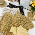 skirt Winter 2020 Average size Xiaoxiaohua apricot 1, xiaoxiaohua Black 2, xiaoxiaoxiaohua coffee 3, xiaoxiaoxiaohua Blue 4, dianhei 5, dianhong6, dianxing7, xiaoyeka 8, xiaoyehei 9, xiaoyebai10, dahuahuang 11, dahuahei 12, dahuaxing 13# Mid length dress commute High waist other Decor Type A other
