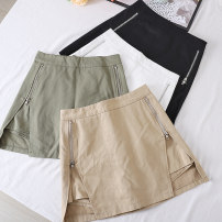Casual pants Black, white, green, khaki S,M,L,XL Summer 2021 shorts Straight pants High waist commute routine 31% (inclusive) - 50% (inclusive) Other / other other Korean version