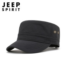 Hat polyester fiber Blue (thin without velvet), black white (thin without velvet), army green (thin without velvet), black (thin without velvet), army green (with velvet), black (with velvet) 8172 Adjustable (tmall genuine guarantee) Flat cap Spring, summer, autumn, winter currency leisure time alone