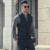 Vest / vest Fashion City Mixlimited / men's Club S m XL l models wear l XXL XXL Other leisure Self cultivation Vest Other 100% Autumn 2016