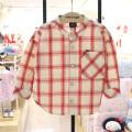 shirt gules allo&lugh neutral 90cm,100cm,110cm,120cm spring and autumn cotton