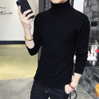 T-shirt / sweater The rainy season is cool Fashion City 165/S 170/M 175/L 180/XL 185/XXL 190/XXXL thickening Socket Reversible collar Long sleeves W005 winter Slim fit Viscose (viscose) 50.8% polyester 27.5% polyamide (nylon) 21.7% leisure time routine Solid color Winter 2017 washing