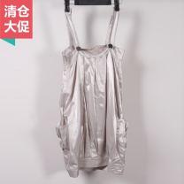 Dress Spring 2011 Grey, gold 4,6,8 08CU006