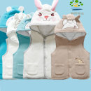 Vest neutral winter thickening Official pictures Single breasted leisure time Cartoon animation Polyethylene terephthalate (polyester) 100% Class A Autumn of 2018