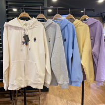 Sweater / sweater Spring 2021 M, L Long sleeves routine Cardigan singleton  routine Crew neck easy street routine Cartoon animation 18-24 years old 96% and above cotton zipper